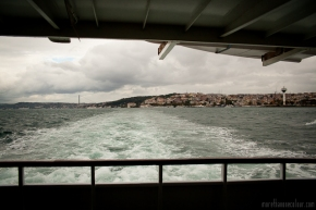 On the ferry, Istanbul, Turkey