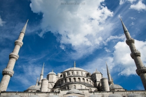The Sultan Ahmed Mosque (Blue Mosque), Istanbul, Turkey