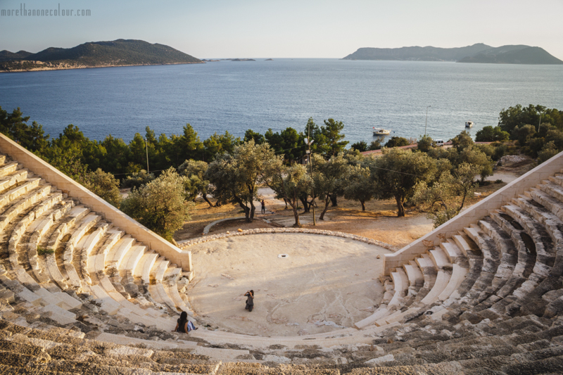 Amphitheatre in Kaş, Turkey